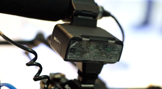 Sony XLR-K2M - New XLR Module for the A7S removes hot shoe lead