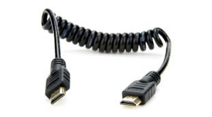 coiled atomos HDMI lead