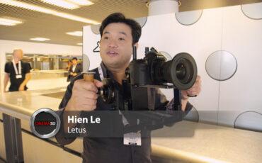 Updated Letus Helix - $4000 Single Operator Camera Stabiliser