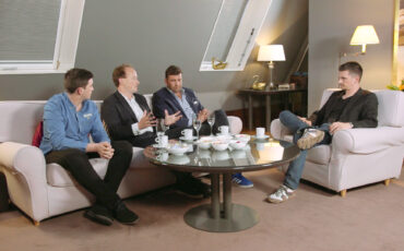 ON THE COUCH - Ep 19 part 1 of 4 - Philip Bloom, George Olver (Movidiam), Ryan Burke (Røde Microphones)