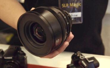 The New SLR Magic PL Cine Lenses - Affordable & Innovative