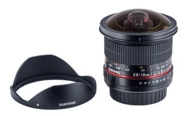 Samyang 12mm Fish Eye for Full Frame Cameras
