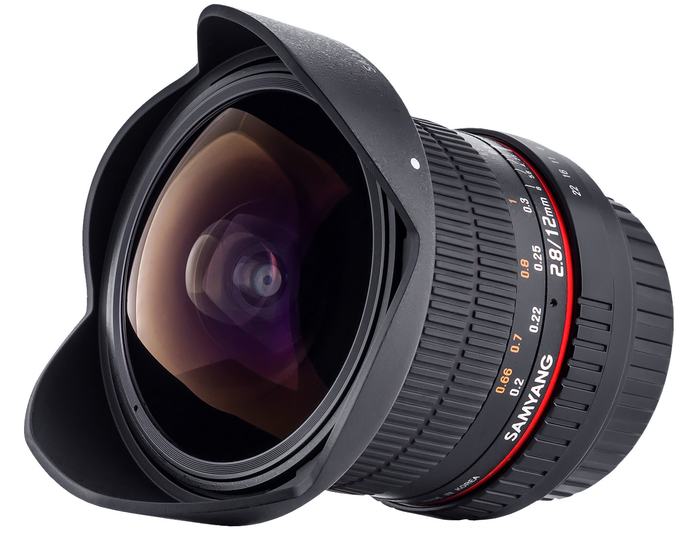 Samyang 12mm Fish Eye Lens