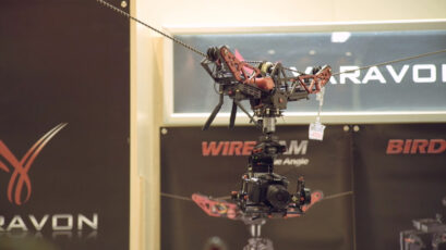 Varavon Wirecam - Flying Gimbal on a Wire Ready for Release