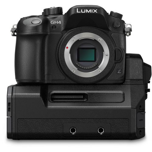 Panasonic GH4 with XLR/SDI Interface save up to $800