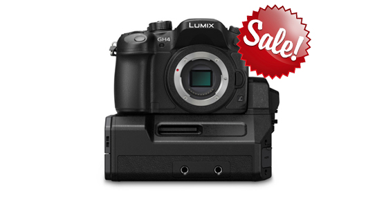 Panasonic GH4 with XLR/SDI Interface save up to $800