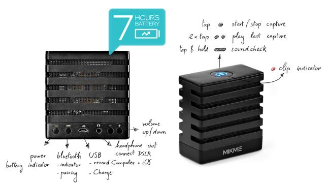Kickstarter – Mikme One Touch Wireless Recording Microphone