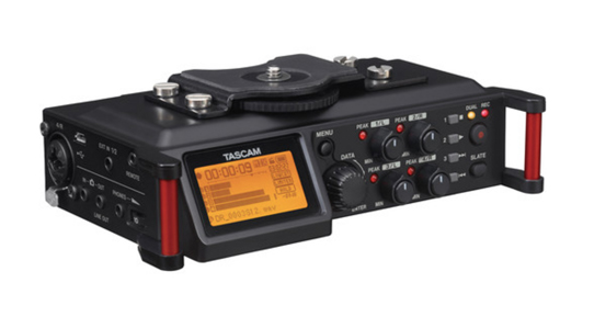 Tascam DR-70D 4-Channel Audio Recorder for DSLRs