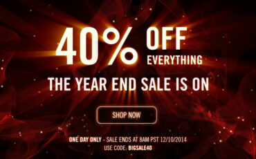 Red Giant 40% off everything for 24 hours