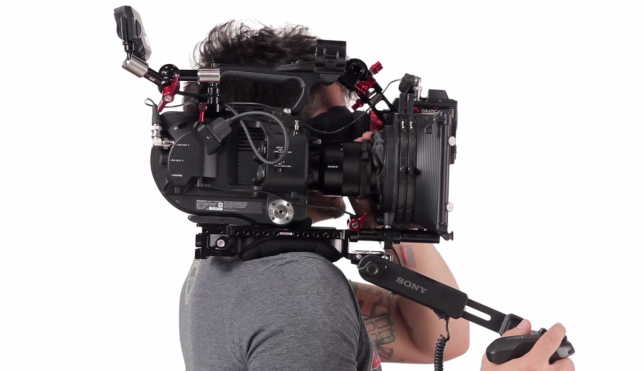 Shoulder Mounted Options from Zacuto for the Sony FS7