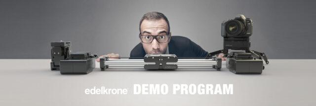 Edelkrone Demo Program