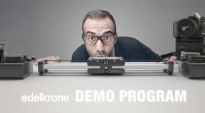 Edelkrone Demo Program Feature