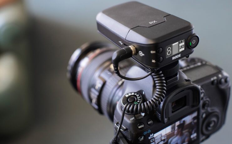 RodeLink 2.4GHz wireless system and NTG 4 and 4+ microphones