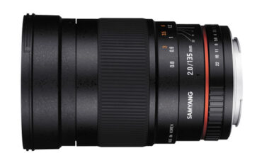 Samyang 135mm f/2.0 Lens Announced
