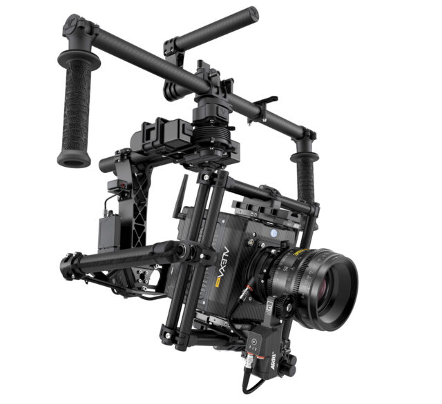 ARRI ALEXA Mini on a Freefly Movi M15