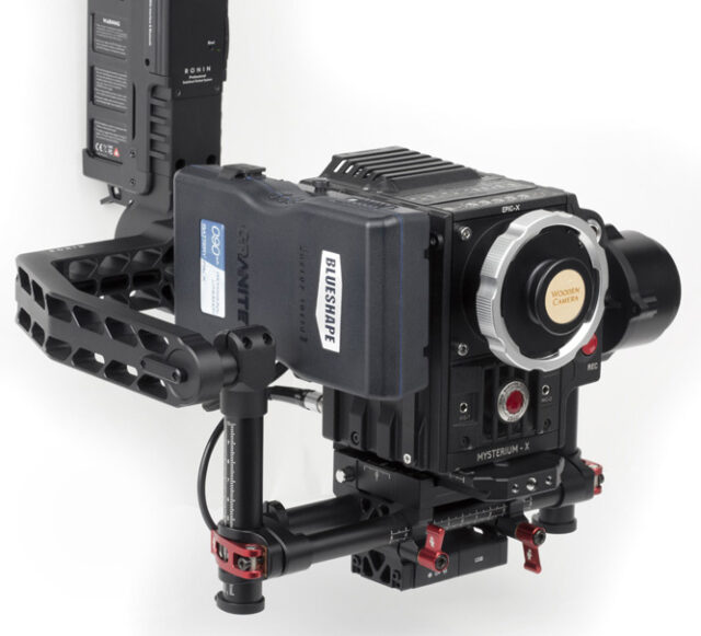 Wooden Camera Red Gimbal Battery Plate 3