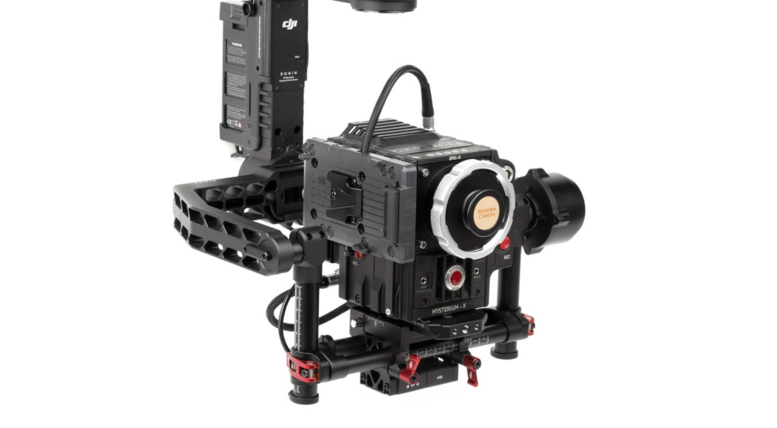 Wooden Camera Gimbal Battery Plate for Red Cameras