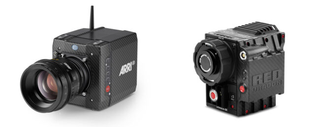 ARRI ALEXA Mini vs RED Epic Dragon Carbon