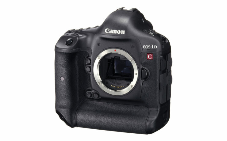 Today the Canon 1DC price dropped by $4000 - owners furious