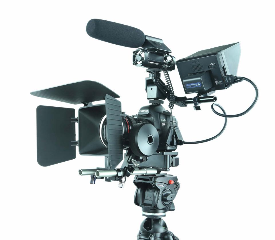 Best camera shoulder rig, shoulder mount for DSLR - Shoulder mounting video shooting solutions.