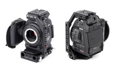 Wooden Camera Cage NATO Arm for Canon C100/C300/C500