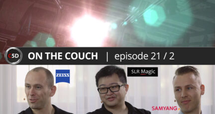 """No Flares or the """"Right"""" Flares? - ON THE COUCH Ep. 21 part 2 of 3 - ZEISS vs. SLR Magic vs. Samyang"""