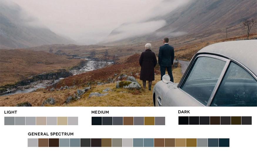 代表的な5つのカラースキームについて‐映画の配色から学ぼう