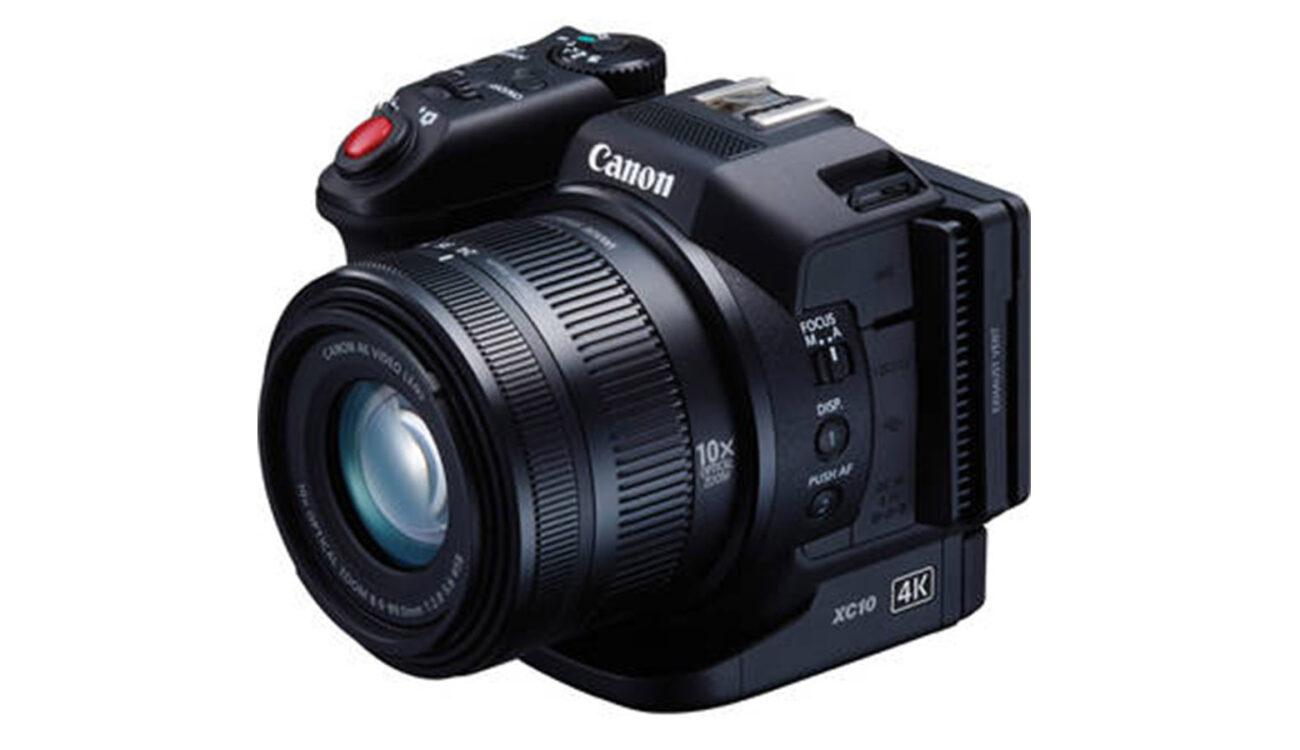 Canon XC10 Compact 4K Camera Announced