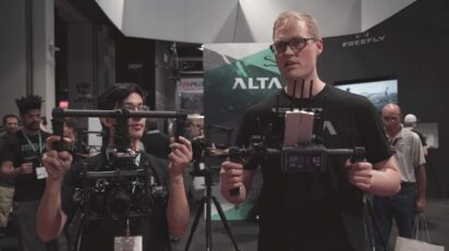 Freefly introduces MIMIC - kinetic remote controller for MōVI - NAB 2015