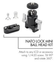 NATO Lock Mini Ballhead
