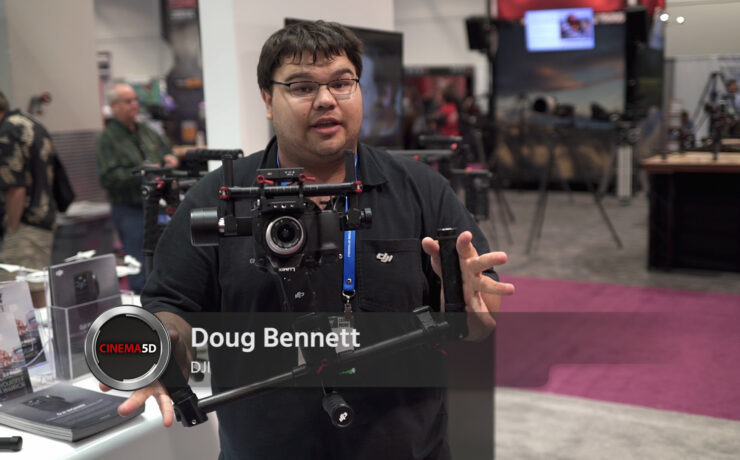 Shockingly Low Price on the DJI Ronin M - Among Most Affordable Gimbal Stabilizers - NAB 2015