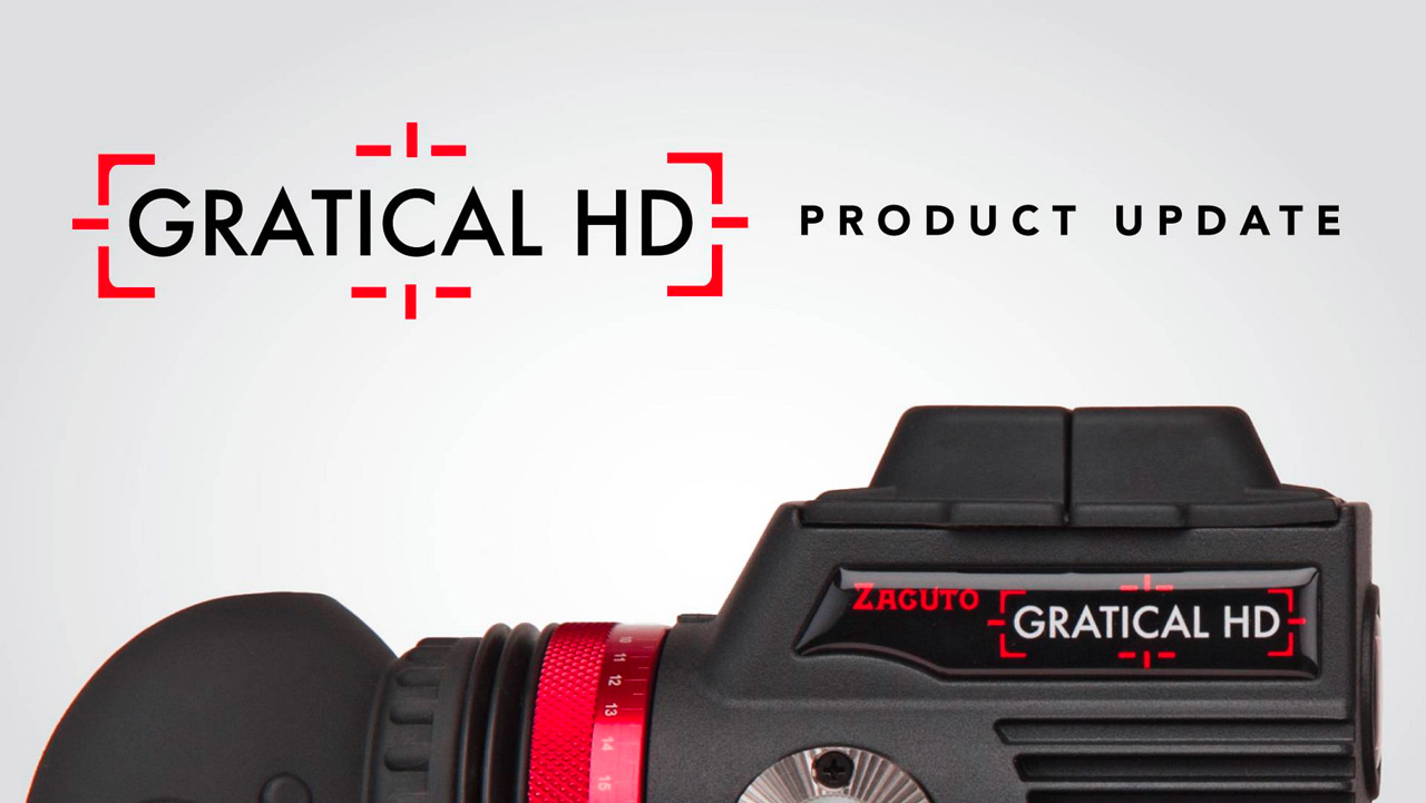Zacuto Gratical Firmware 1.1 - Improved LUT Support plus more.