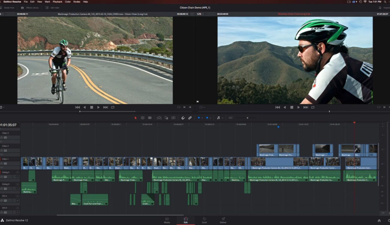 Davinci Resolve 12 Getting New Editing Features - NAB 2015