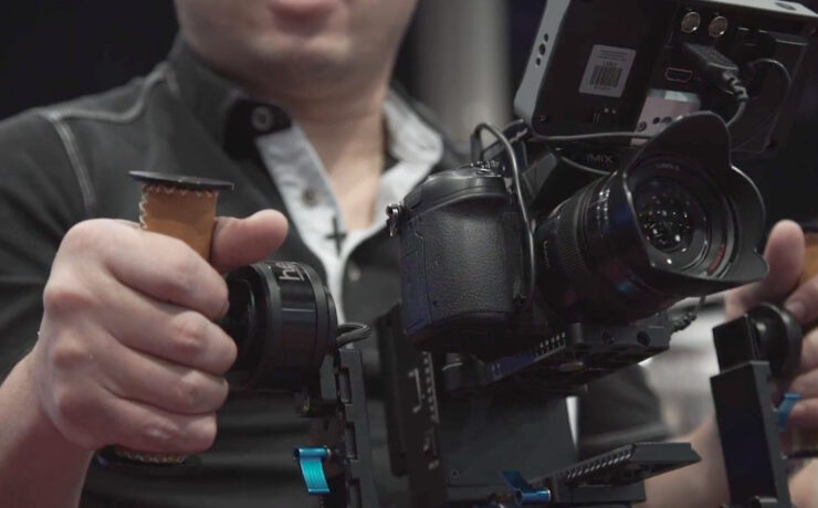 Letus Helix Jr. - a much more unique gimbal product - NAB 2015