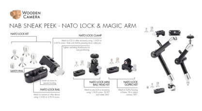 Sneak Peek at Wooden Camera NATO Lock Kits