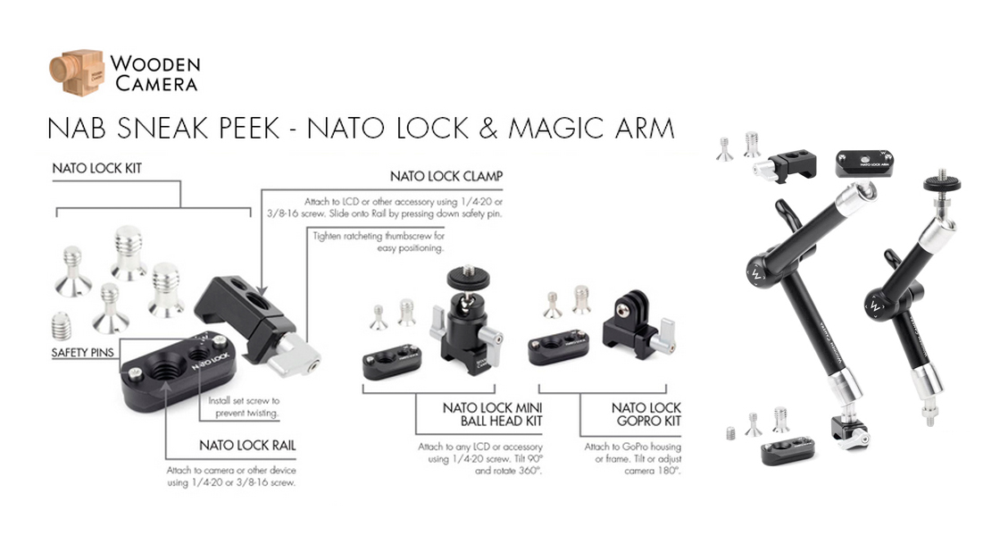 Sneak Peek at Wooden Camera NATO Lock Kits