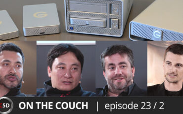Backing up for the Long Run - ON THE COUCH Ep. 23 part 2 of 4 - Dan Chung, Clinton Harn, Emmanuel Pampuri