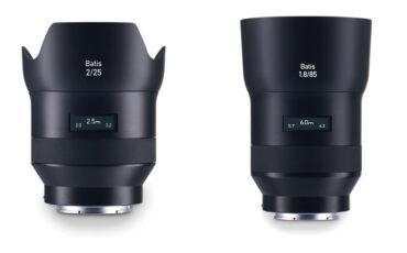 Zeiss Batis - world's first PMOLED lenses available for pre-order