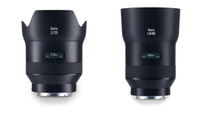 Zeiss Batis - world's first PMOLED lenses available for pre-order
