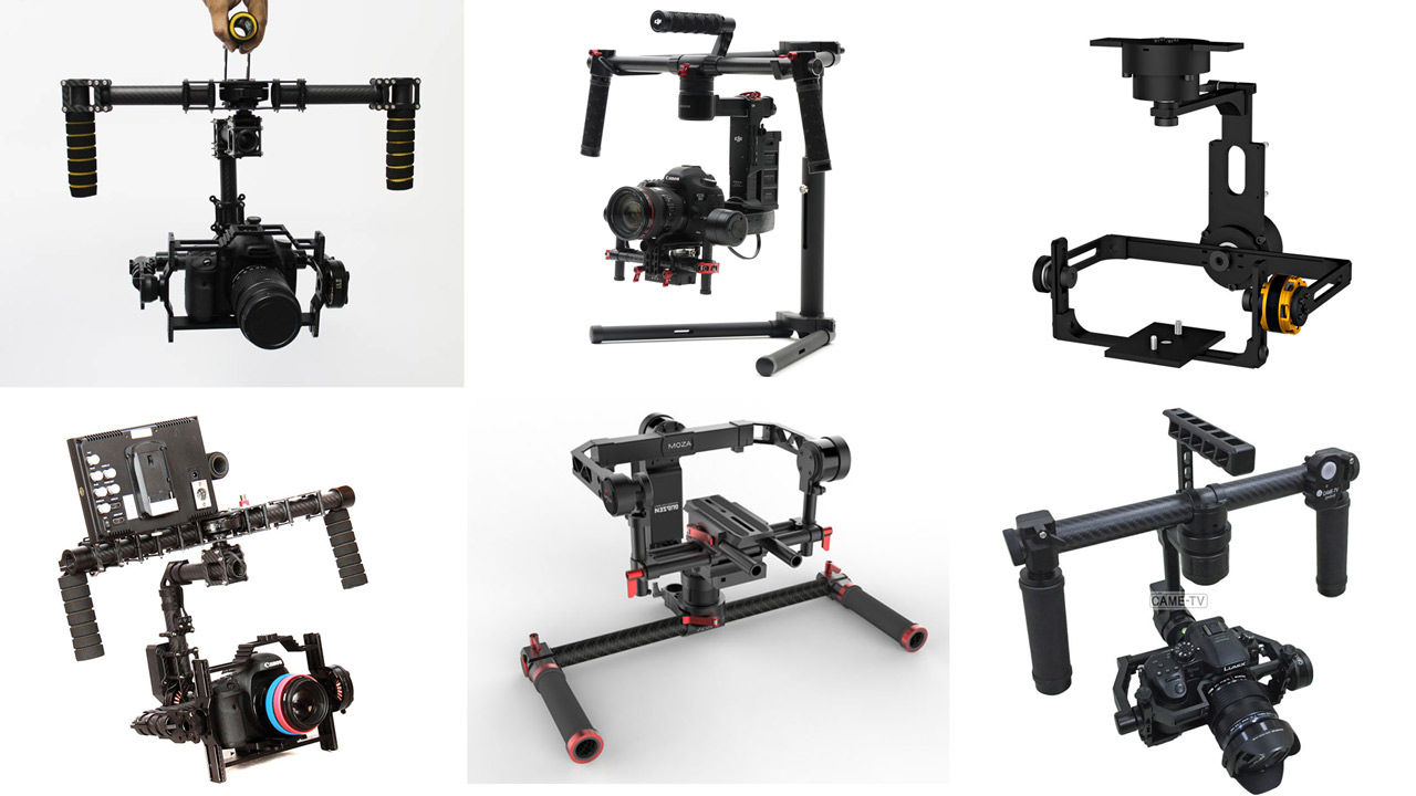 7 Affordable Gimbal Stabilizers Cheaper than the DJI Ronin M