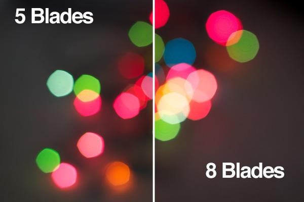 aperture blade comparison