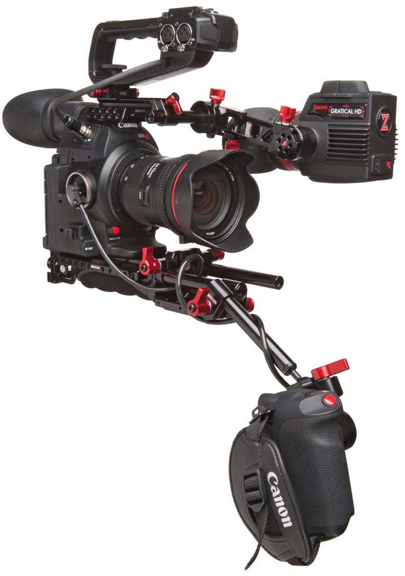 Zacuto C100 Mark II Recoil Configuration | cinema5D