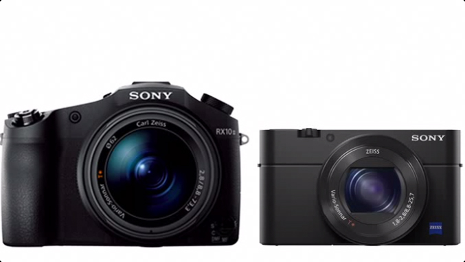 Sony RX10 II and RX100 IV 4K Cameras Announced
