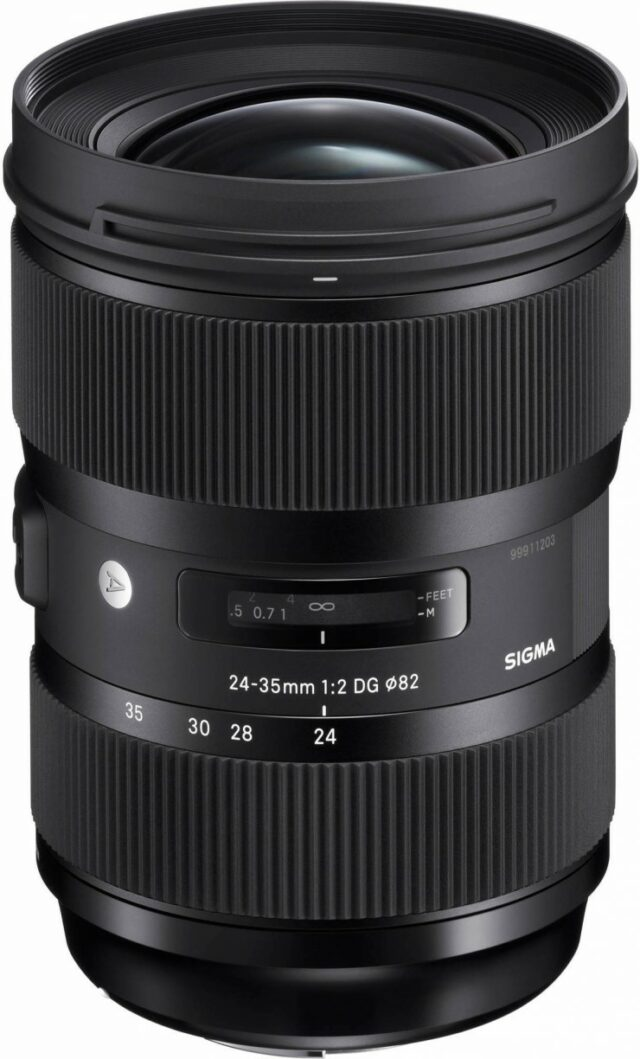 Sigma 24-35mm f:2 1