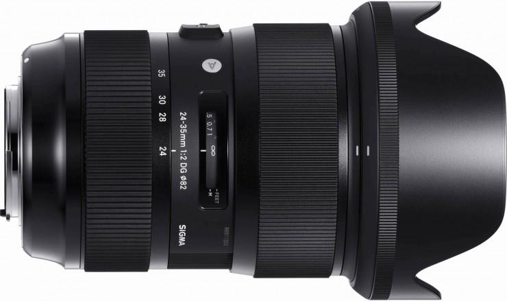 Sigma 24 35mm F 2 Ultra Fast Full Frame Zoom Lens Cinema5d