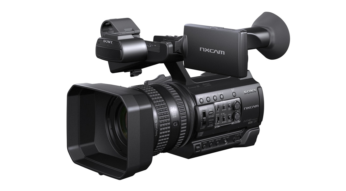 Sony HXR-NX 100 - New Entry Level Small Sensor Camcorder