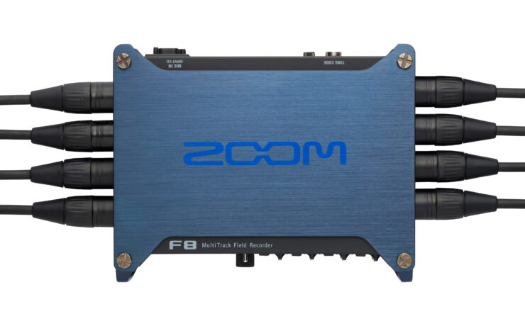 Zoom F8 - Affordable 10-Track Field Recorder for the Pros