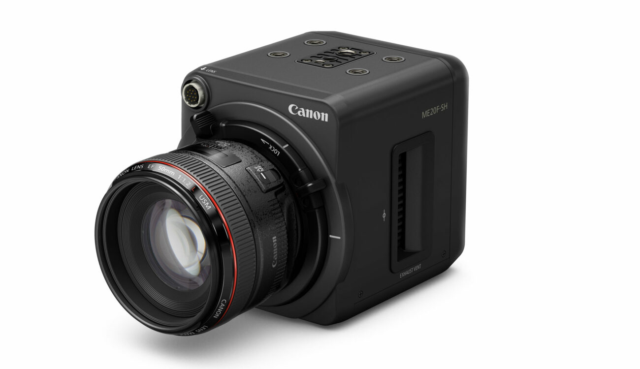 The New Canon ME20F-SH - A Lowlight Camera with 4 Million ISO!