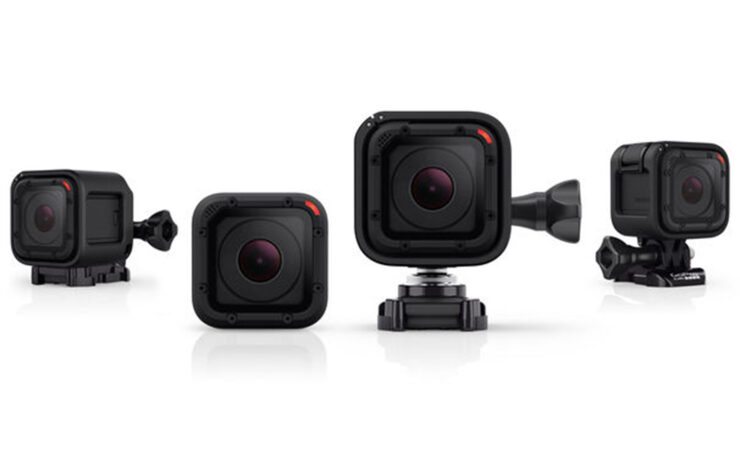 GoPro Announces Compact HERO4 Session