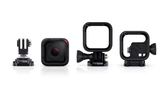 The Hero4 Session is waterproof, no extra housing required.
